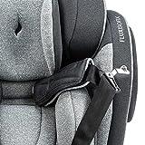 Osann Flux Kindersitz 9-36 kg Isofix (Gruppe 1/2/3) Kinderautositz - Universe Grey - 7